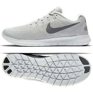 Details about Nike Free RN 2017 880839 010 GreyPlatinumOff White Men's Running Shoes Sz 15