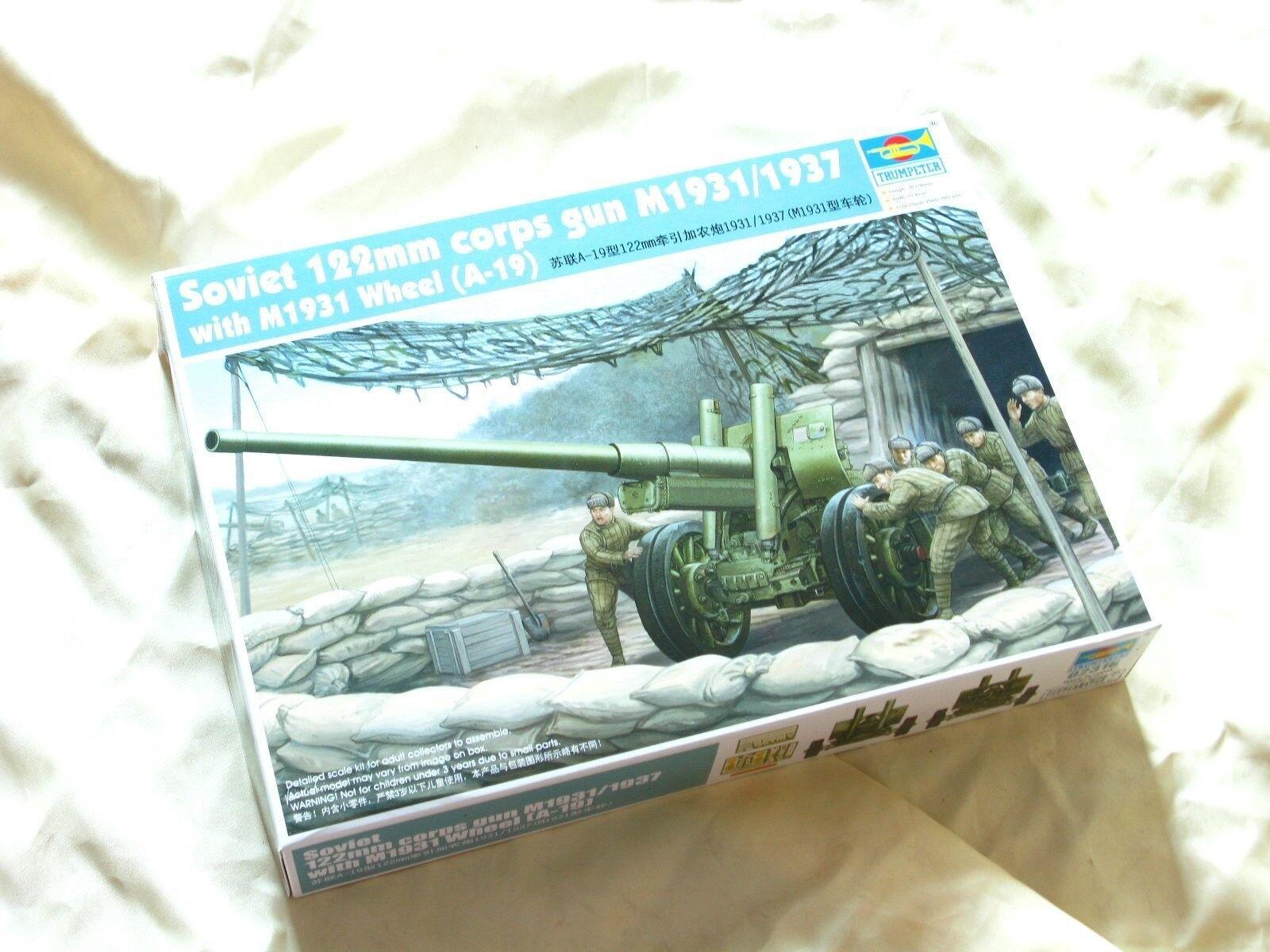 02316 Trumpeter Soviet A-19 122mm Corps Gun M1931 Wheel 1 35 Model Kit