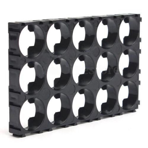 10PCS 18650 Battery 3x5 Cell Spacer Radiating Shell EV Pack Plastic Heat Holder