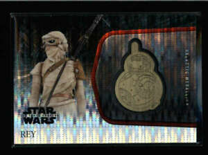 REY-TOPPS-CHROME-STAR-WARS-FORCE-AWKENS-BB-8-GOLD-MEDALLION-09-10-AX4112
