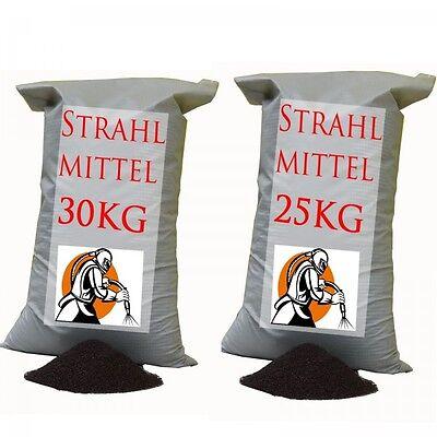 25 KG oder 30 KG STRAHLMITTEL STRAHLGUT SANDSTRAHLEN STRAHLSAND