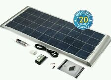 150watt caravan motorhome solar panel+free nationwide installation+20 yr wrnty