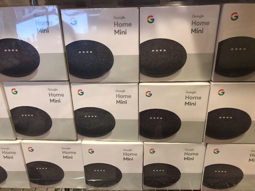 Brand New X1 Google Home Mini Smart Assistant - Charcoal