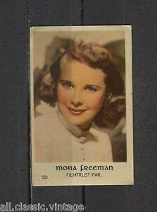 Mona-Freeman-Vintage-Movie-Film-Star-Trading-Card-Filmtrust-Paramount-50
