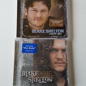 2-Blake-Shelton-Promo-CD-The-Dreamer-2003-Startin-039-Fires-2008-Warner-Brothers