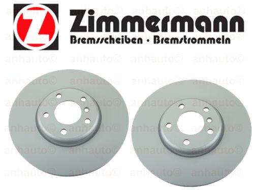 Zimmermann  Set of 2 Front Brake Disc BMW F02 F07 F10 528 535 650 740 NEW