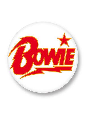 Lot Pack Badge Button Ø38mm David Bowie Ziggy Stardust Singer Music UK
