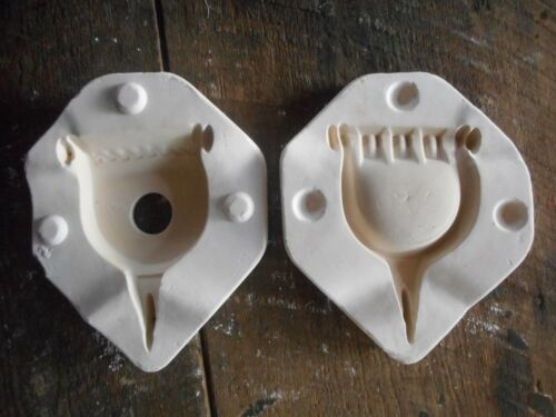 Vintage 1967 Duncan Ceramic Mold Plaster Casting Spur Ashtray No. DM 173A