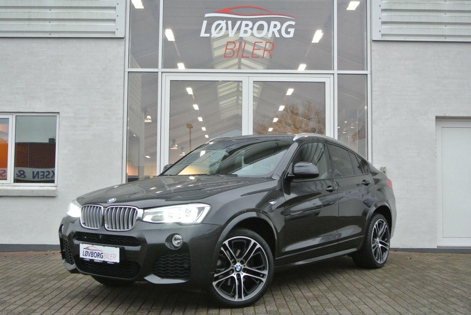 BMW X4 3,0 xDrive30d M-Sport aut. 5d - 3.277 kr.