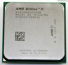 AMD ATHLON II X2 260 - ADX2600CK23GM - 3.2GHZ - AM2+/AM3 - DUAL CORE CPU