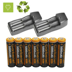 5000mAh-Rechargeable-18650-Battery-3-7V-Li-ion-Batteries-Cell-Bat-Dual-Charger