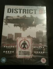 DISTRICT 9 DVD NEW & SEALED