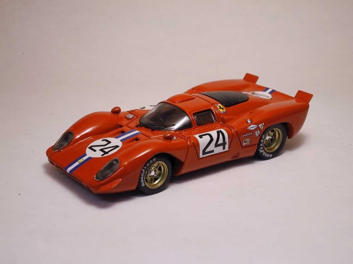 Ferrari 312 P Coupe'  24 4th 24h Daytona 1970 Posey   Parkes 1 43 Model  | Erste Kunden Eine Vollständige Palette Von Spezifikationen