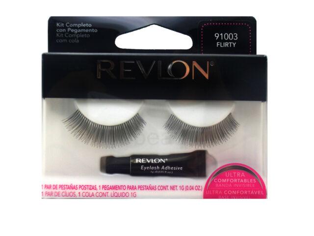 9c3f327c22a Revlon False Eye Lash Lashes Eyelashes Eyelash Flirty 91003 Black ...