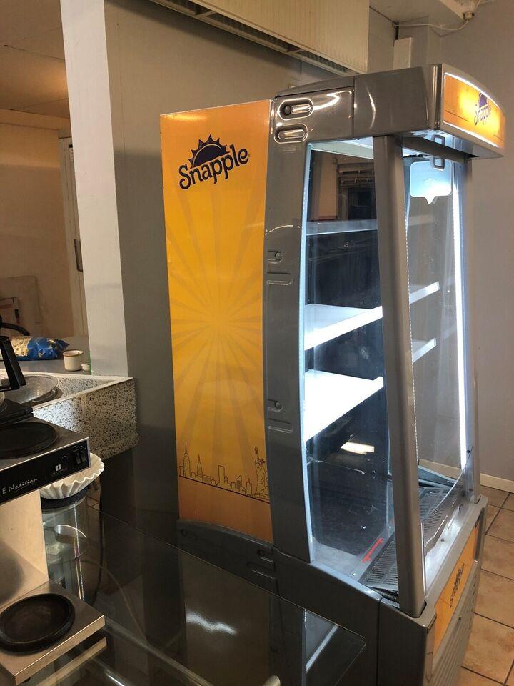 Andet køleskab, andet mærke Snapple