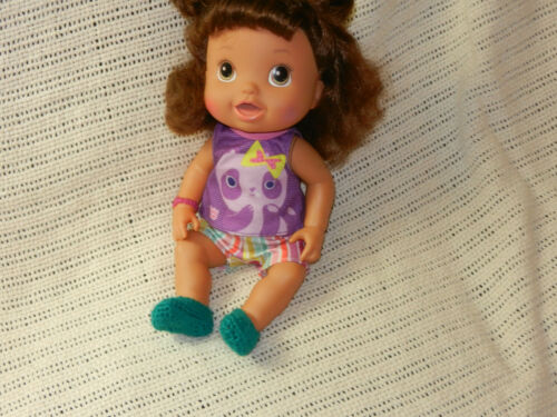 Baby Alive Fit American Girl Light Blue Slippers fit 18 inch Disney Toddler
