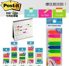 3m Post It Flags 985 Colors Bookmark Point Sticky Note Plastic Paper Index Pad