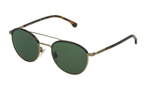 Occhiali-da-sole-LOZZA-SL2290M-verd-eoro-grigio-opaco-metallo-sonnenbrille-08FT