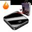 miniature 1 - Mini 900000mAh Power Bank UltraThin USB Portable External Battery Backup Charger