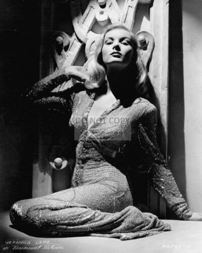 AA-348 8X10 PUBLICITY PHOTO VERONICA LAKE FILM ACTRESS