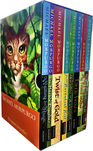 Michael-Morpurgo-8-Book-Collection-Box-Set-From-Hereabout-Hill-Little-Foxes