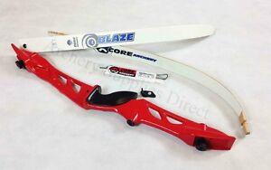 """Lhd 68/"""" Red Core Archery Jet Recurve Bow Set"""