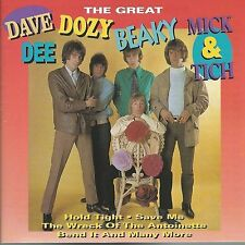DAVE DEE DOZY BEAKY MICK & TICH CD: THE GREAT (GOLDIES GLD 63197; WIE NEU)