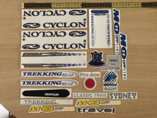 Bicycle Frame Sticker Set Bundle