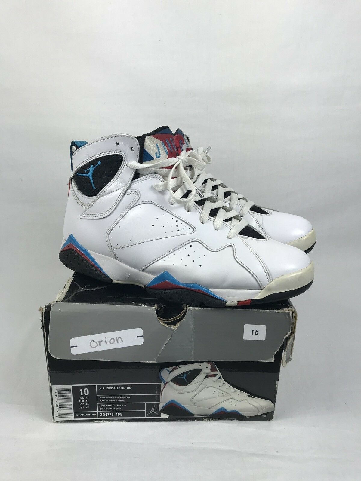 596456fad9e1 ... coupon for 2018 air jordan retro turnschuhe viiprice rotuzierung 41f8d  e5972