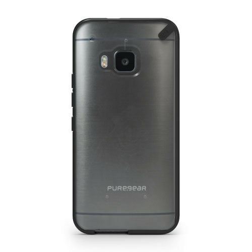 sports shoes 7a81d c7f5d PureGear Slim Shell Black/clear Case Hard Cover for HTC One M9