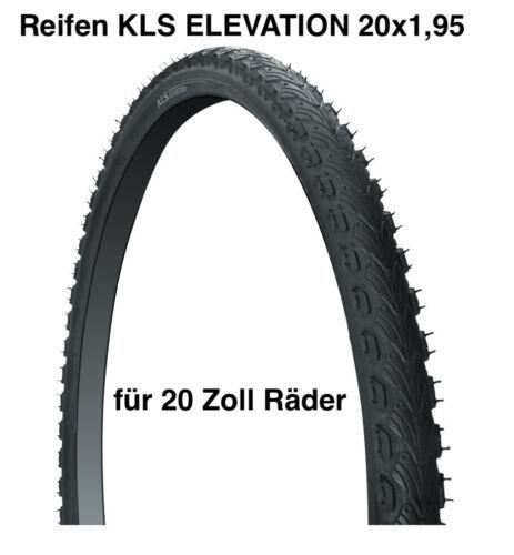 Fahrrad Reifen KLS ELEVATION 20x1,95 Mountainbike 20 Zoll Kinder