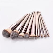 10Pcs Make Up Brushes Set Professional Blusher Powder Foundation Eyeshadow Tools