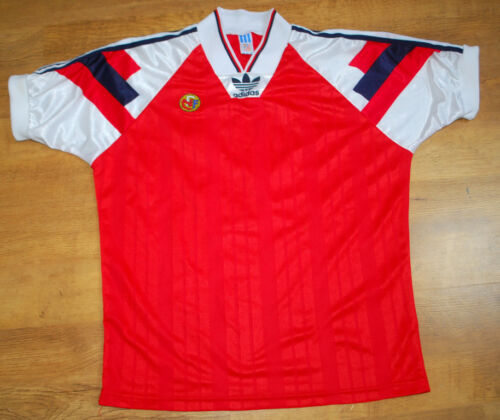 adidas Norway Norge 19921994 #10 home shirt Size M