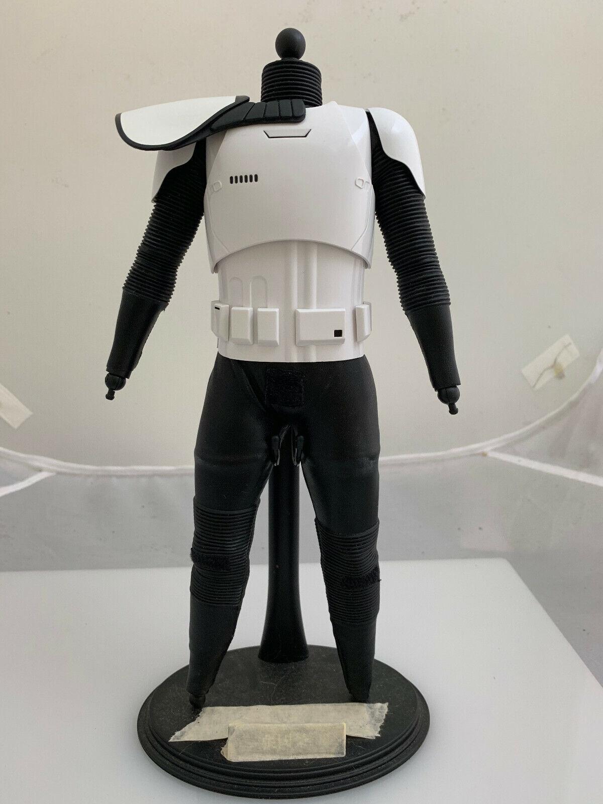 1 6 Hot Juguetes orden de Estrella Wars Stormtrooper MMS317-Figura De Cuerpo
