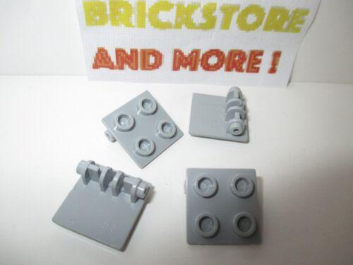 4x Charnière Hinge Brick 2x2 Top Plate Thin 6134 Choose color. Lego