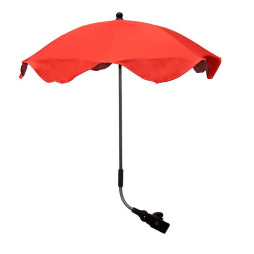 Baby Parasol Compatible With Hauck Plum /& Navy! Black Grey Cream Red