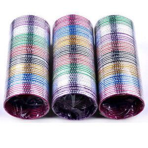 100pcs-Wholesale-Bulks-Lots-Colorful-Dance-Bangle-Aluminum-Bracelets-Jewelery