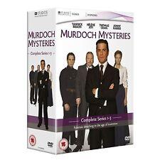 Murdoch Mysteries: Citytv TV Series - The Complete Seasons 1+2+ 3  Box Set NEW