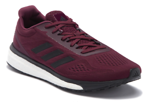 New Adidas Response Boost LT Limited Men's Running shoes Sneakers Maroon Black
