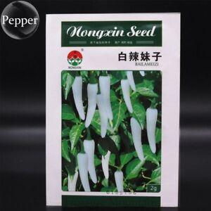 300-White-Bell-Pepper-Seeds-Very-Hot-Pepper-Garden-100-GENUINE-Vegetable-Plants