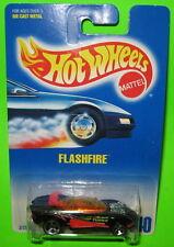 Hot Wheels Flashfire Collector #140 Mint on 1991 Card ho5 Hole Dot Thailand 3156