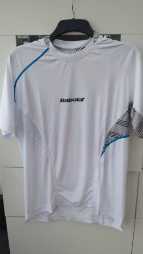 Babolat Men's Performance Tennis Shirt TShirt White L