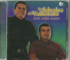 Los Ideales Del Vallenato Con Mas Amor  Latin Music CD New