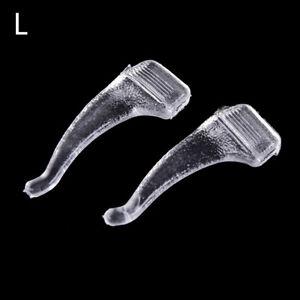 10Paires Grip Temple Holder Lunettes Crochets d/'oreille Anti-dérapants pour