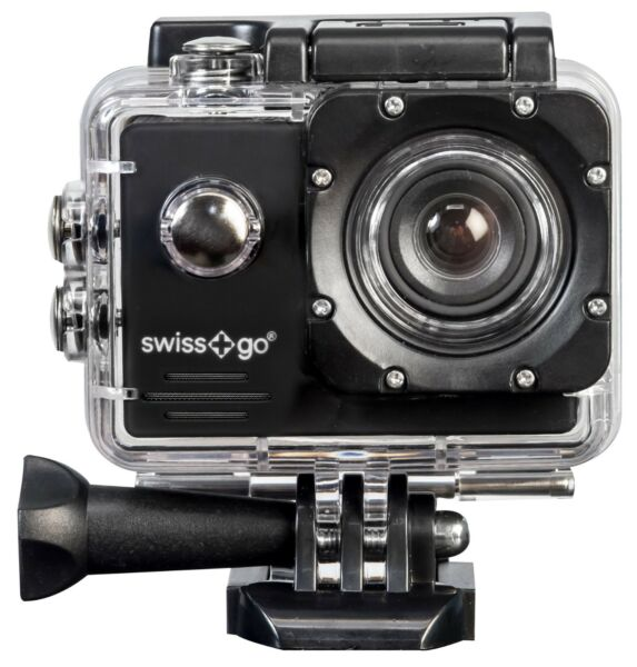Appris Videocamera Sportiva Action-cam (tipo Gopro) Swiss+go Sg-1.8w (full-hd)