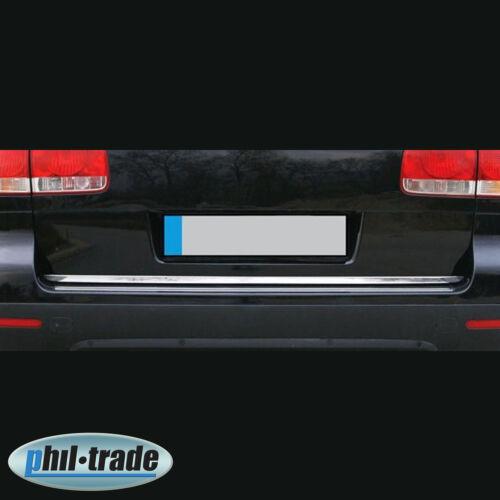 CROMO barra posteriore in acciaio inox Barra Bagagliaio per VW Touareg 2002-2010