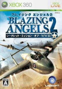 Xbox360-Blazing-Angels-2-Secret-Missions-of-WWII-Japan-Import-Japanese-Game