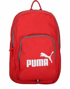 39d6f7152d23 Puma Phase Backpack Red Work School Gym Holiday Sports Back pack 21L ...