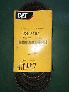 CAT-BELT-Pt-2S-2481-CATERPILLAR-Cogged-V-Belt-gt-OEM-NEW