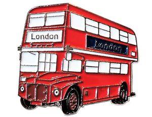 NEW-Routemaster-London-Bus-Transport-Metal-Enamel-Lapel-Pin-Badge-Brooch-30mm